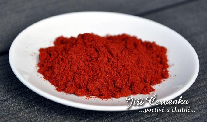 Paprika sladká 100 ASTA