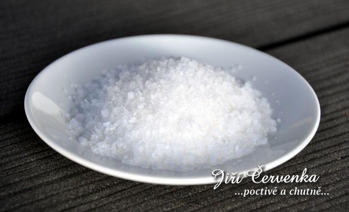 Mořská sůl hrubozrnná